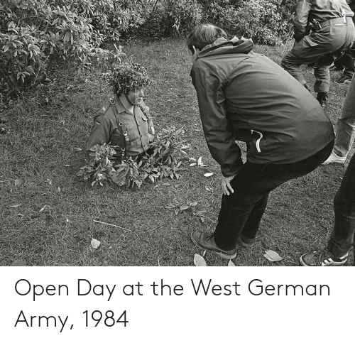 german army: Open Day at the West German Army, 1984