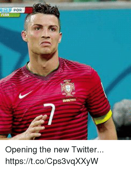 Soccer, Twitter, and New: Opening the new Twitter... https://t.co/Cps3vqXXyW