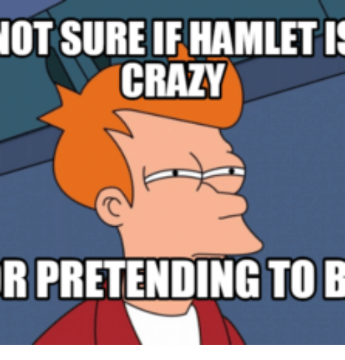 Is hamlet crazy or pretending essay
