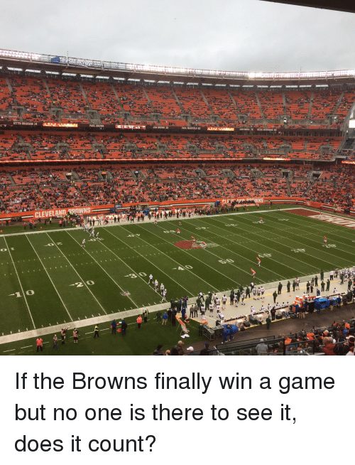 otto graham: OTTO GRAHAM 14  PAUL BROWN  CLEVELAND WAWNS  JIM BROWN 32  PAUL WARFIELD 42  LOUSROZA 76 ozzIE NEWSOME B If the Browns finally win a game but no one is there to see it, does it count?