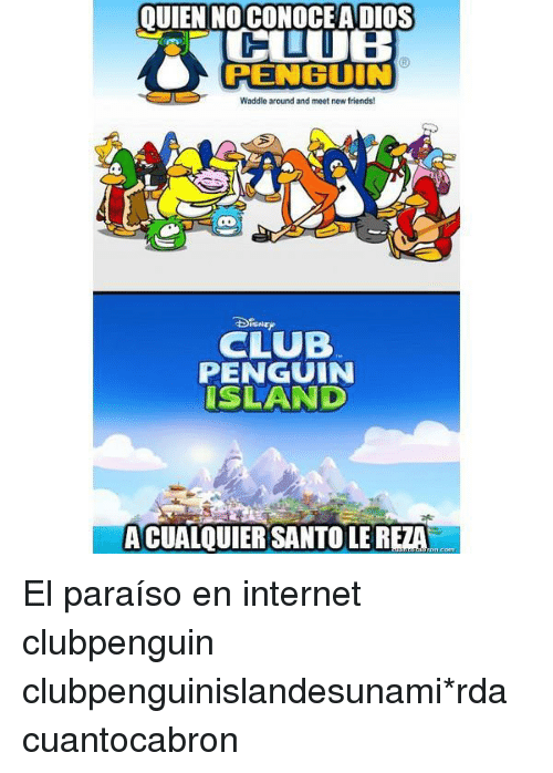 club penguin wander around and meet new friends