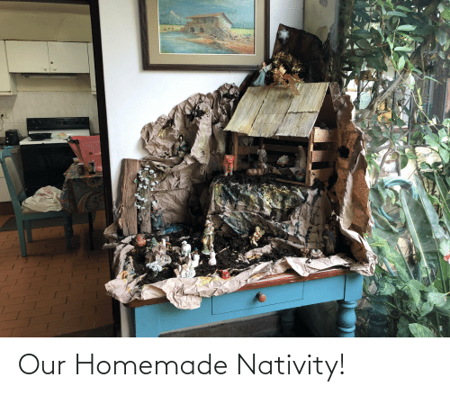 nativity: Our Homemade Nativity!