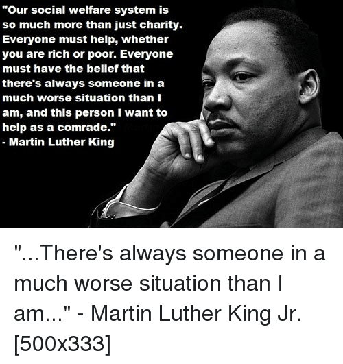 Martin Luther King help?