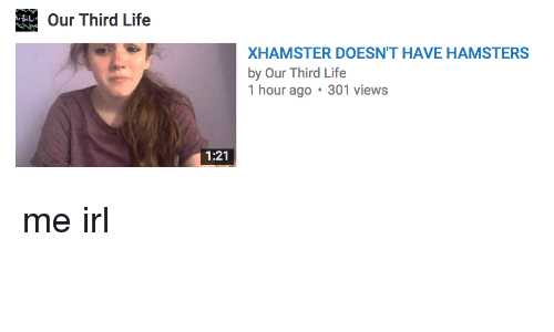xhamster doesnt have hamsters