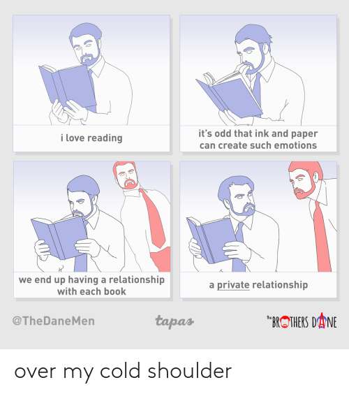 Cold: over my cold shoulder