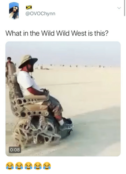 Wild, Girl Memes, and Wild Wild West: @oVOChynn  What in the Wild Wild West is this?  0:08 😂😂😂😂😂