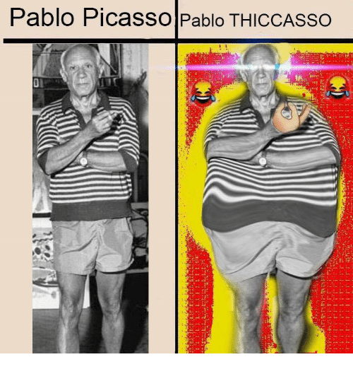 Pablo Picasso, Picasso, and Classical Art: Pablo PicaSSO Pablo THICCASSO