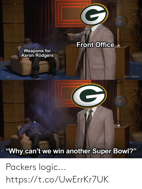 Packers: Packers logic... https://t.co/UwErrKr7UK
