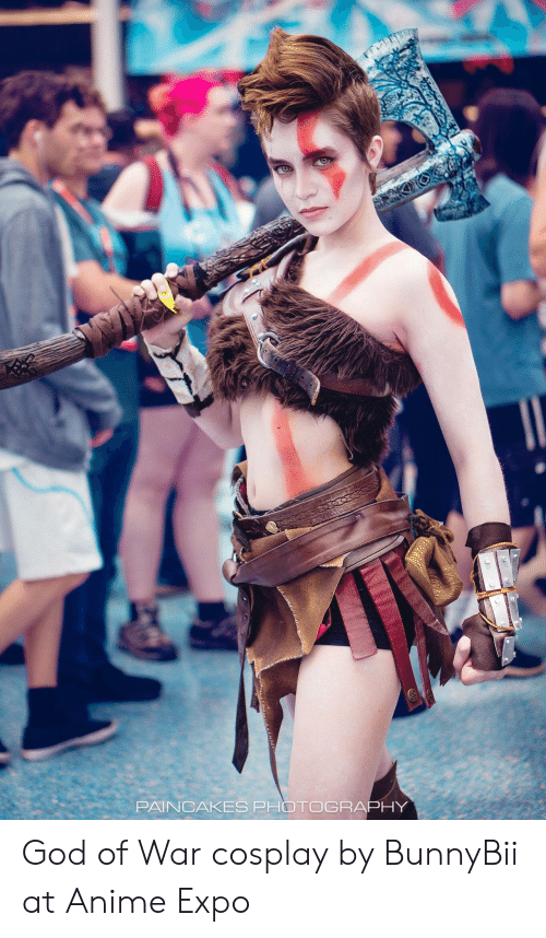 god of war: PAINCAKES PHOTOGRAPHY God of War cosplay by BunnyBii at Anime Expo