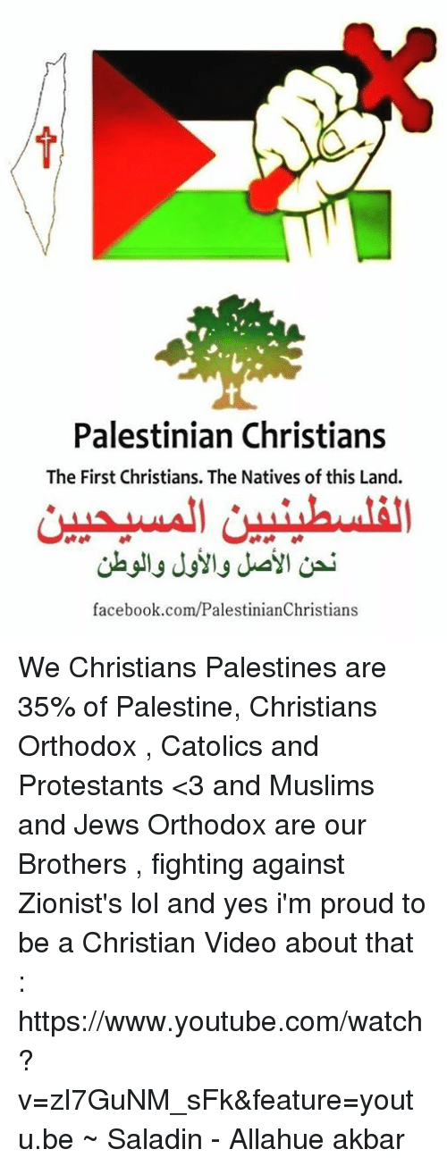 Image result for zionist palestinian christians