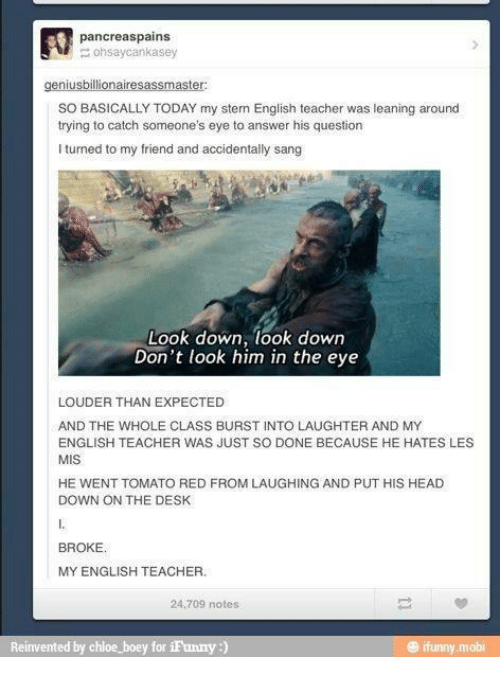 Should I complain about my English teacher?