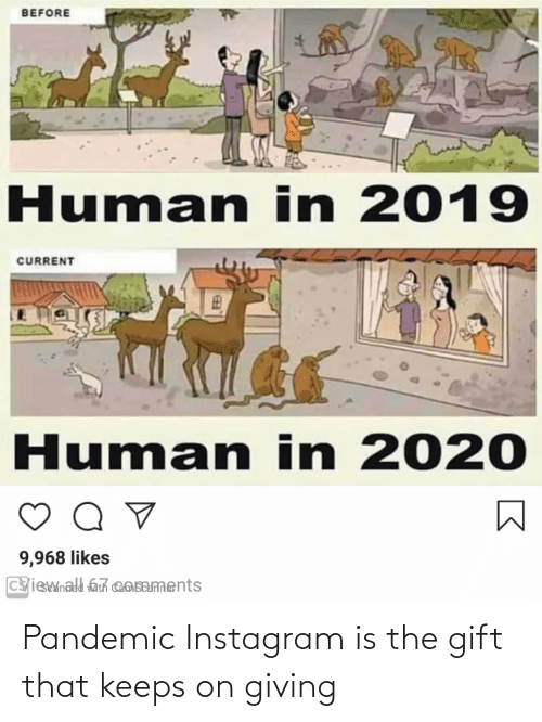 Im 14 & This Is Deep: Pandemic Instagram is the gift that keeps on giving