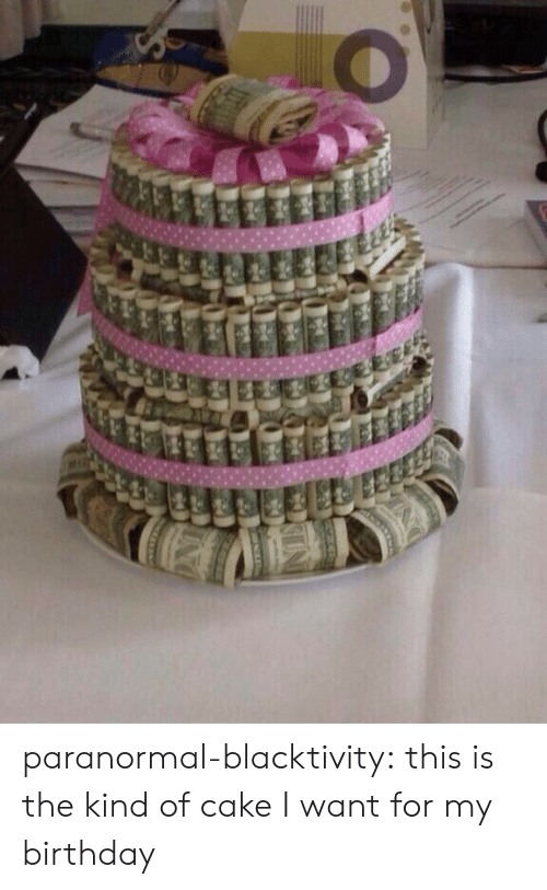Birthday: paranormal-blacktivity:  this is the kind of cake I want for my birthday