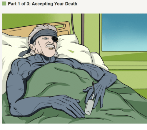 Death, Dank Memes, and Accepted: Part 1 of 3: Accepting Your Death