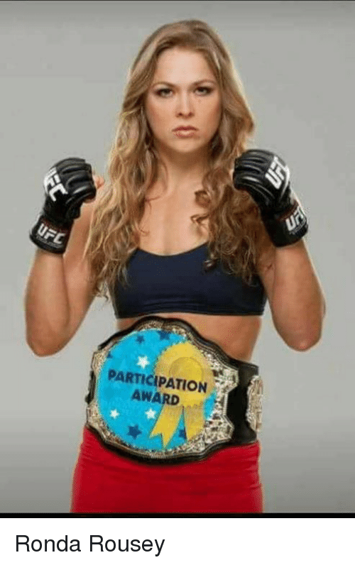 Ronda Rousey: PARTICIPATION Ronda Rousey