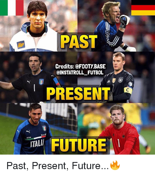 Memes, 🤖, and Futbol: PAST  Credits: @FOOTy BASE  @INSTAT ROLL FUTBOL  PRESENT  FUTURE Past, Present, Future...🔥