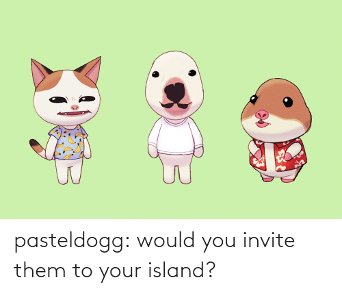 Would You: pasteldogg:  would you invite them to your island?