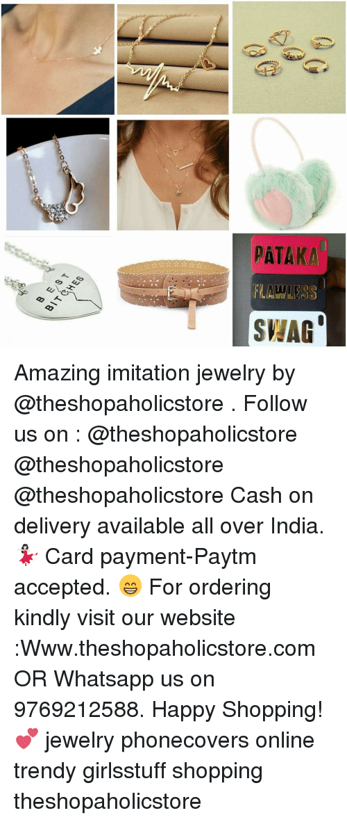 Pataka flawless shag 39 amazing imitation jewelry by follow for Craft supplies online india cash on delivery