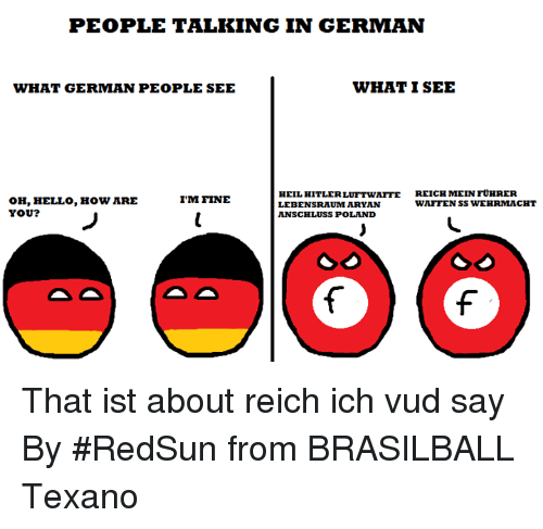 How do i say this in german?