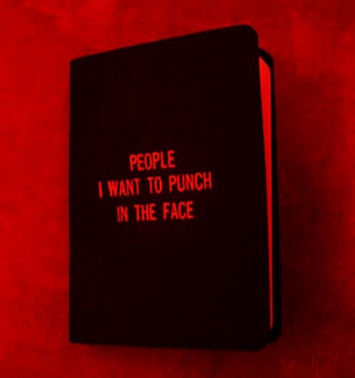 Punch In The Face: PEOPLE  WANT TO PUNCH  IN THE FACE