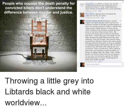 """the death penalty is a deserved and just punishment for murder How and why the death penalty deters murder in contemporary america  if the death penalty deters murder,  to conform to any just purpose of punishment""""."""