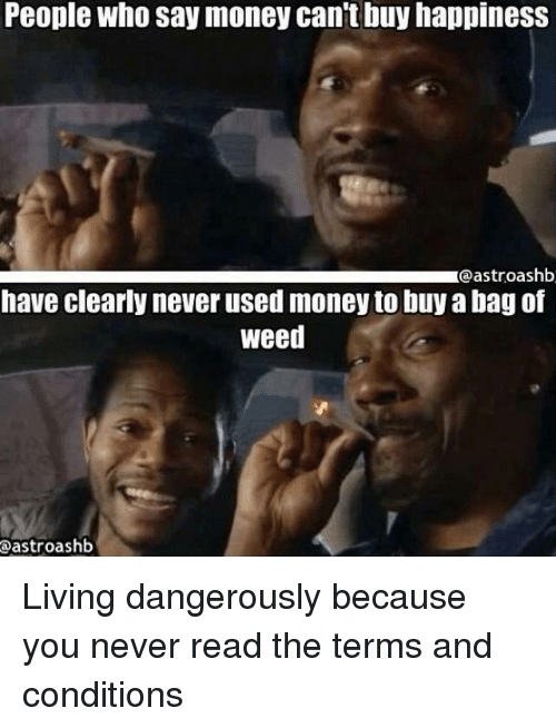 What are some reasons why money can't buy happiness?