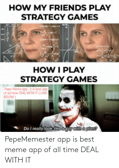 meme app: PepeMemester app is best meme app of all time DEAL WITH IT