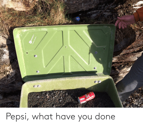 Pepsi: Pepsi, what have you done