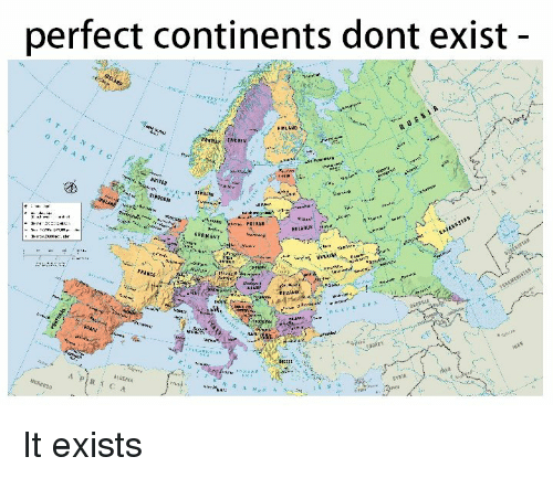 Superior Swiss: perfect continents dont exist  FINLAND  SMEDEN  BELARUS It exists