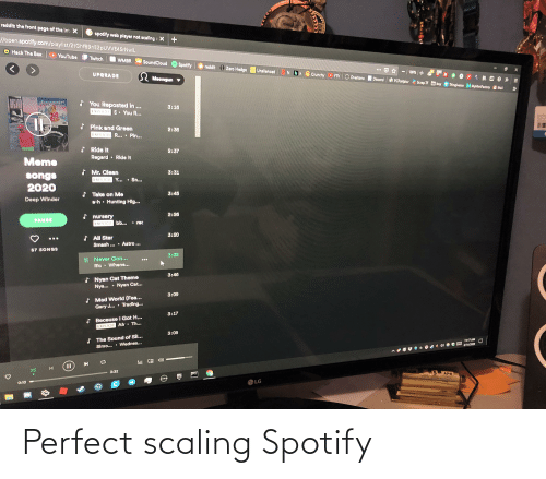 Scaling: Perfect scaling Spotify