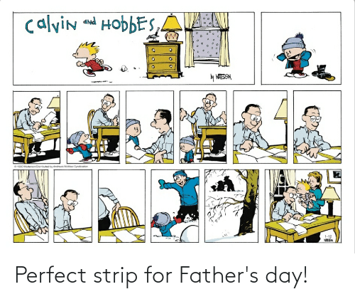 fathers day: Perfect strip for Father's day!