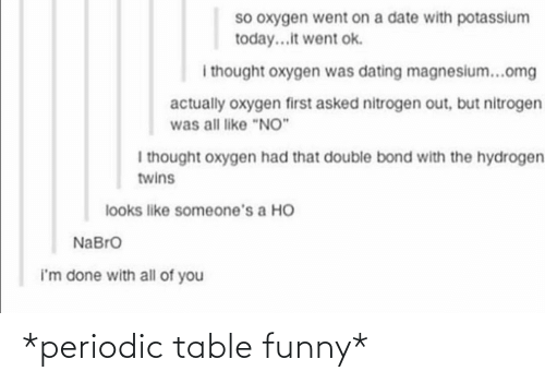 periodic table: *periodic table funny*