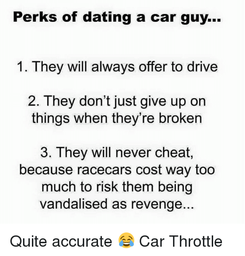 Dating a man without a car