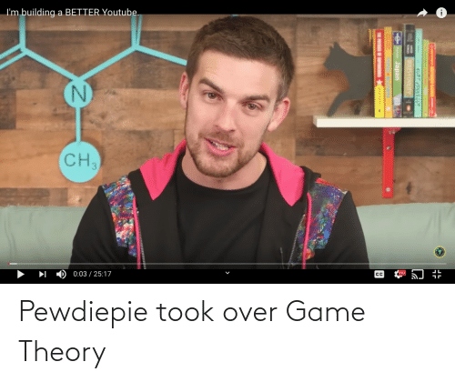 game theory: Pewdiepie took over Game Theory