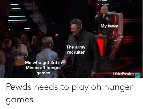 The Hunger Games: Pewds needs to play oh hunger games