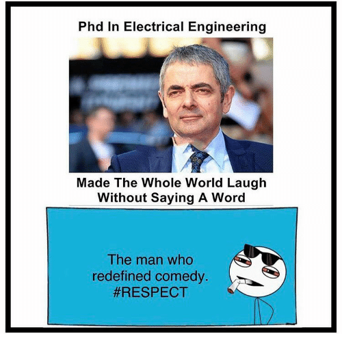 electrical engineering: Phd In Electrical Engineering  Made The Whole World Laugh  Without Saying A Word  The man who  redefined comedy
