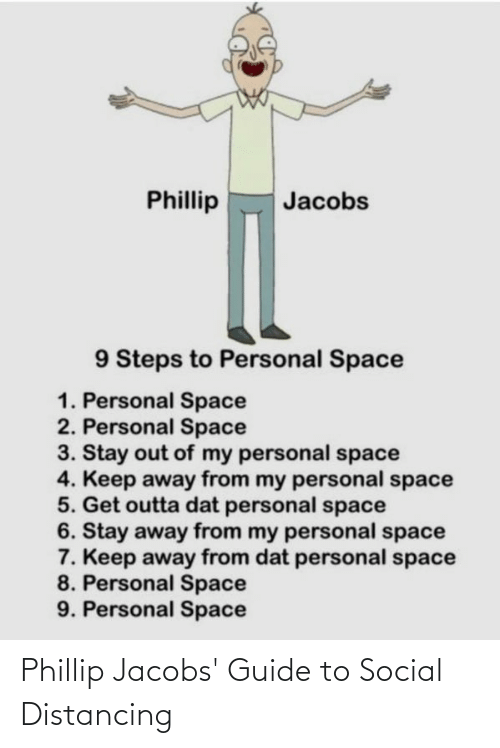 jacobs: Phillip Jacobs' Guide to Social Distancing