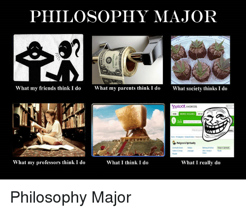 Philosophy what are major