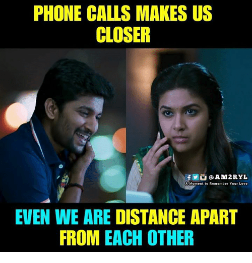 We Love Each Other Meme: PHONE CALLS MAKES US CLOSER F@AM2RYL A Moment To Remember