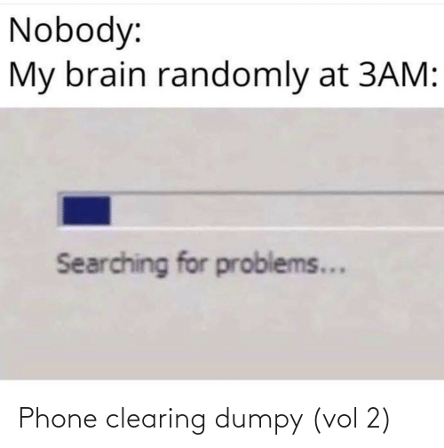vol: Phone clearing dumpy (vol 2)