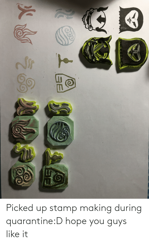 stamp: Picked up stamp making during quarantine:D hope you guys like it