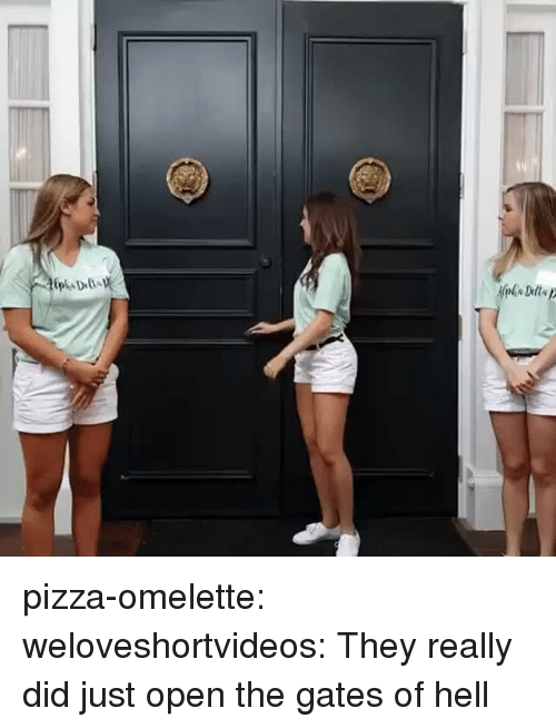 omelette: pizza-omelette:  weloveshortvideos:  They really did just open the gates of hell