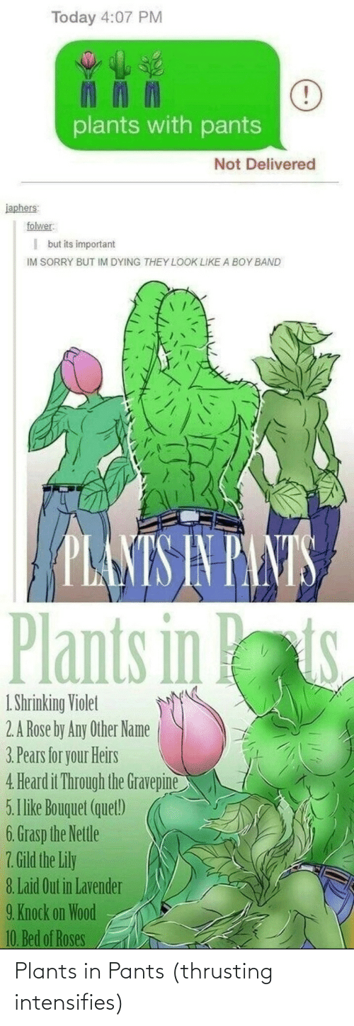 plants: Plants in Pants (thrusting intensifies)