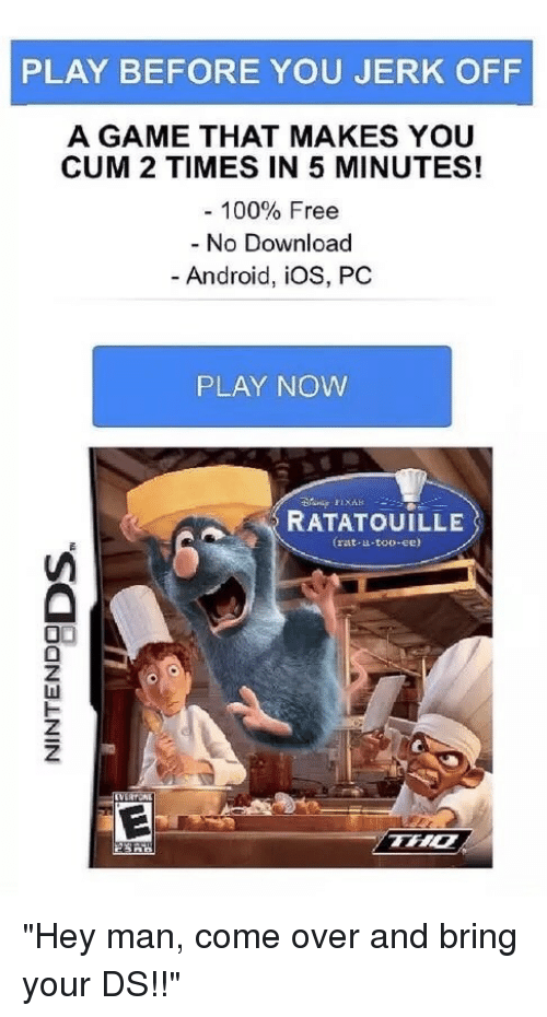 A game that makes you cum 2 times in 5 minutes