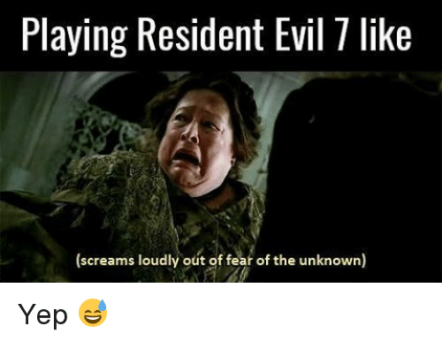 Memes, Evil, and Fear: Playing Resident Evil 1 like  (screams loudly out of fear of the unknown) Yep 😅