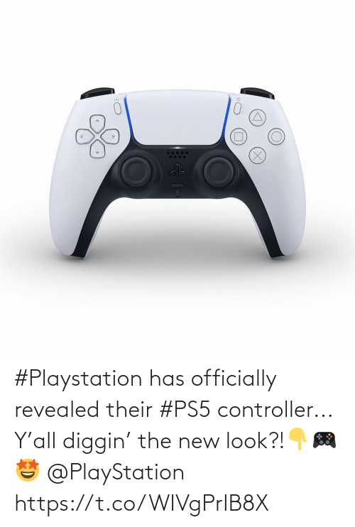 Ps5: #Playstation has officially revealed their #PS5 controller... Y'all diggin' the new look?!👇🎮🤩 @PlayStation https://t.co/WIVgPrIB8X