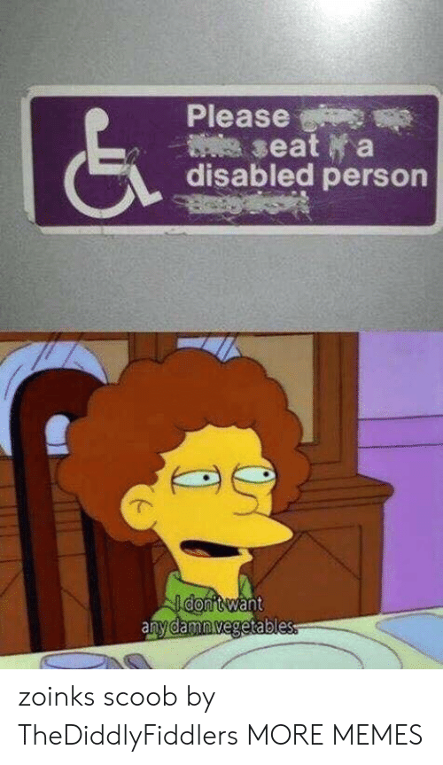 Zoinks: Please  disabled person zoinks scoob by TheDiddlyFiddlers MORE MEMES