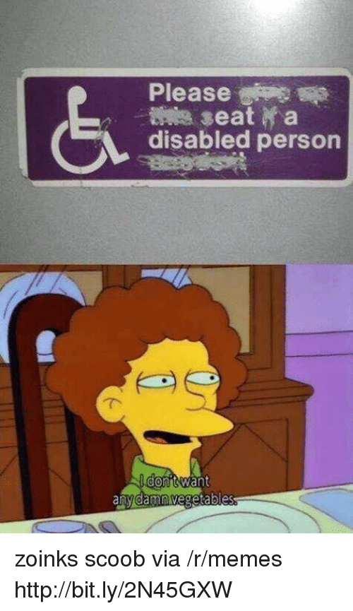 Zoinks: Please  disabled person zoinks scoob via /r/memes http://bit.ly/2N45GXW