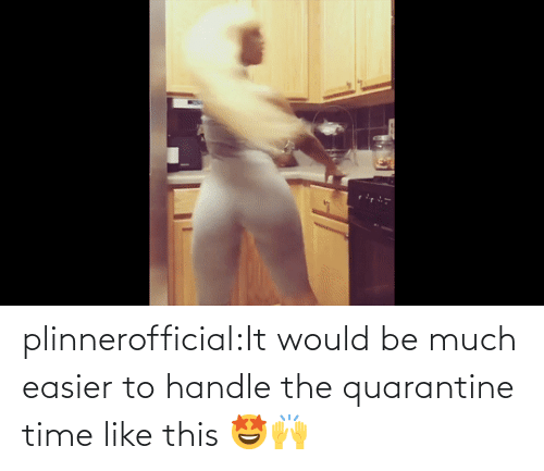 handle: plinnerofficial:It would be much easier to handle the quarantine time like this 🤩🙌