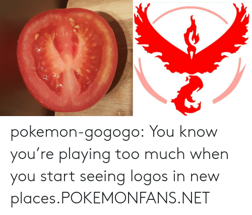 Pokemon: pokemon-gogogo:  You know you're playing too much when you start seeing logos in new places.POKEMONFANS.NET